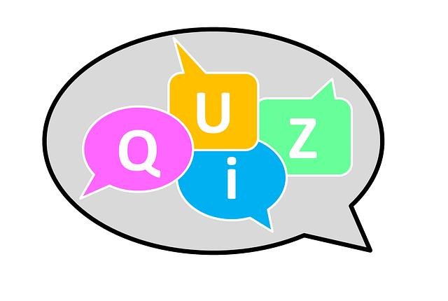 Quizz : venez tester vos connaissances !