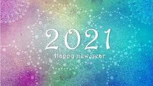 2021 est arrivée !